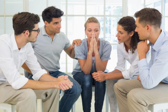 support group in drug addiction recovery program